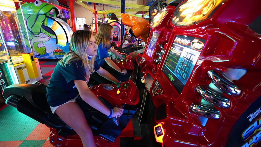 arcade bike games
