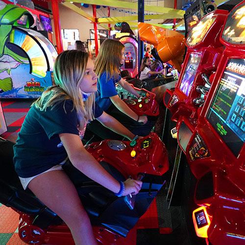arcade birthday parties